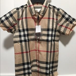 Brand new authentic Burberry  shirt